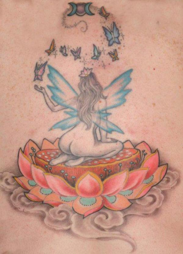 my backpiece tattoo 35 Lovely Lotus Flower Tattoos