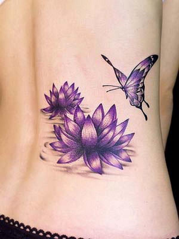 Lotus Flower Tattoos 35 Lovely Samples Design Press