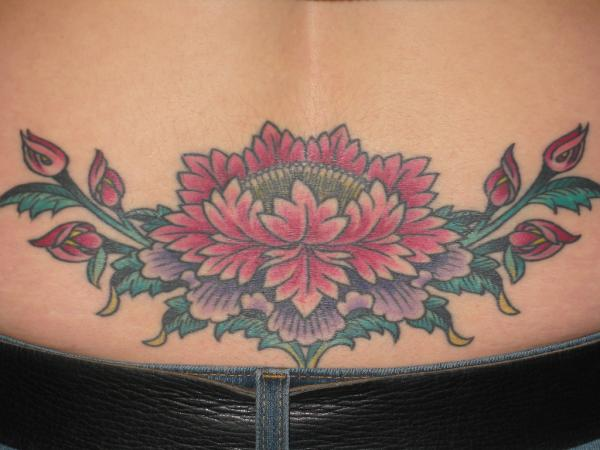 tibetan lotus 35 Lovely Lotus Flower Tattoos