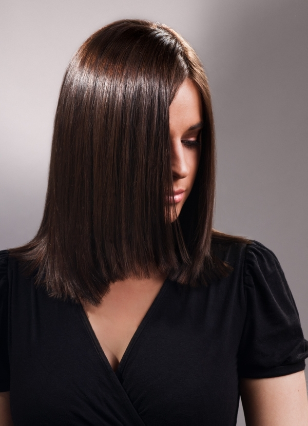 cool smooth hair style 40 Trendy Medium Length Layered Hairstyles