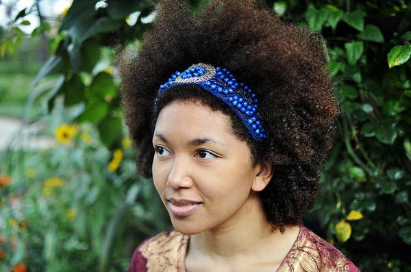 natural hair headband 40 Natural Hair Styles For Black Women Which Are Cool
