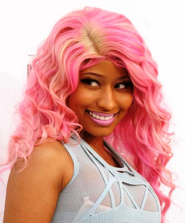 Nicki Minaj Cute Pink Hair
