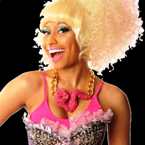 Nicki Minaj Golden Web Hair