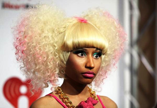 Nicki Minaj Centre Knot Hair