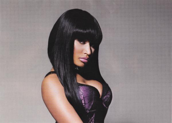Nicki Minaj Silky Black Hair