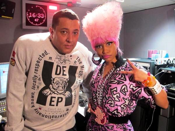 Nicki Minaj Standing Pink Hair