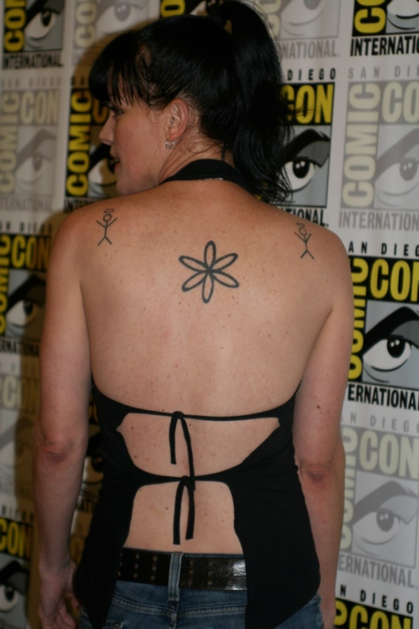 Pauley Perrette at Comic-Con
