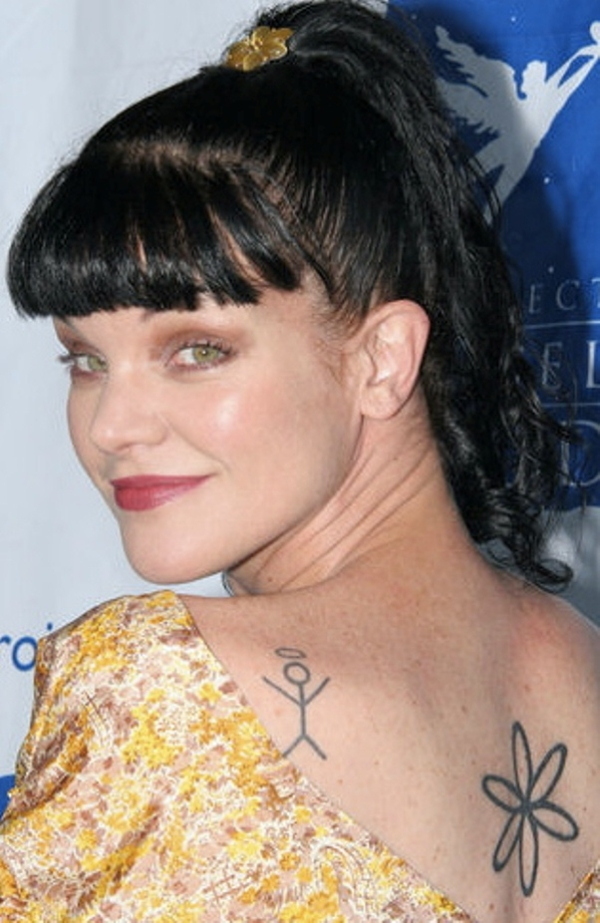 Pauley Perrette Tattoo