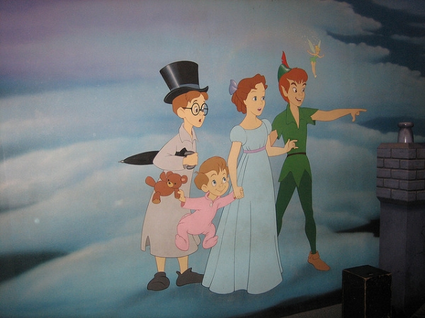 peter pan mural 20 Sweet Peter Pan Pictures