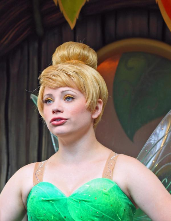 tinkerbell being tink 20 Beautiful Pictures of Tinkerbell