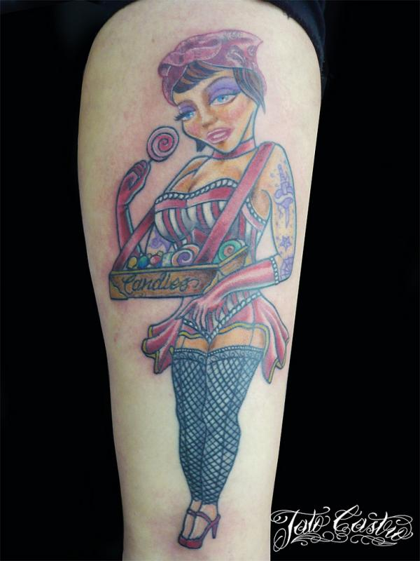 25 Attractive Pin Up Girl Tattoos Slodive