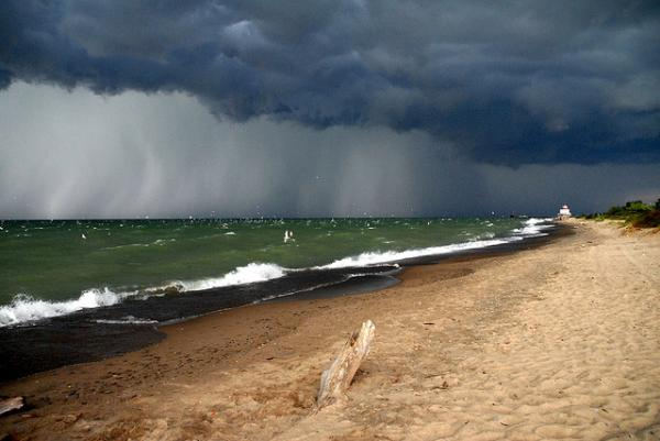 Storm At The Beach