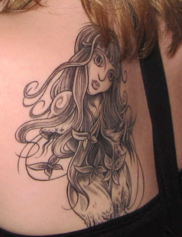 Lovely Lady Tattoo
