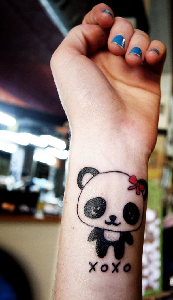 Pretty Panda Tattoo