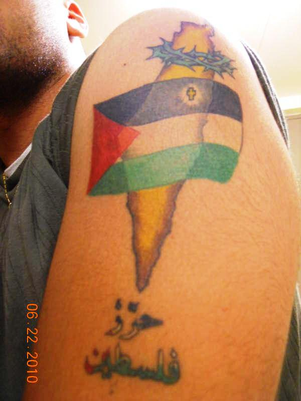 free palestine tattoo 30 Cool Rebel Flag Tattoos