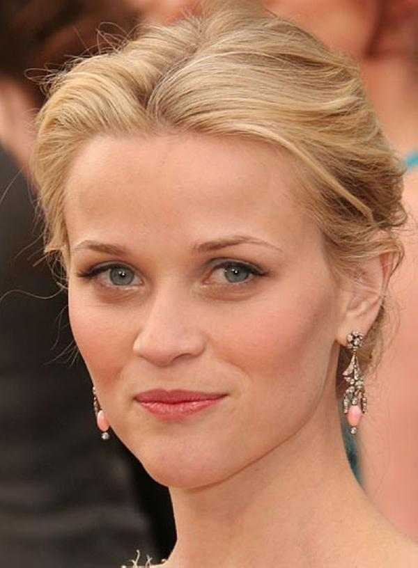 a sweet updo 30 Glorious Reese Witherspoon Hairstyles