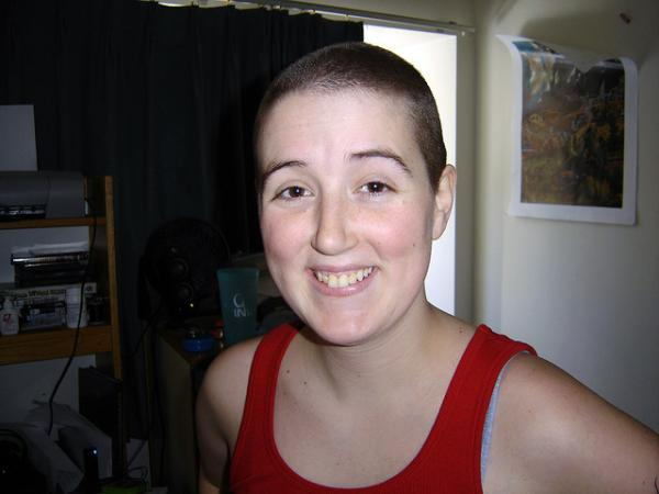 hanners buzzed her head 40 Pretty Short Hairstyles For Women