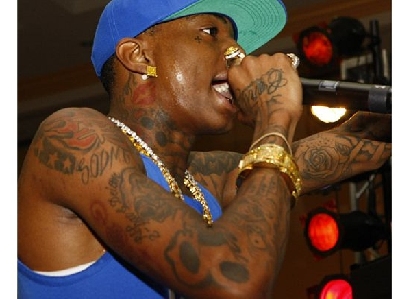 Soulja Boy Left Tattoo View