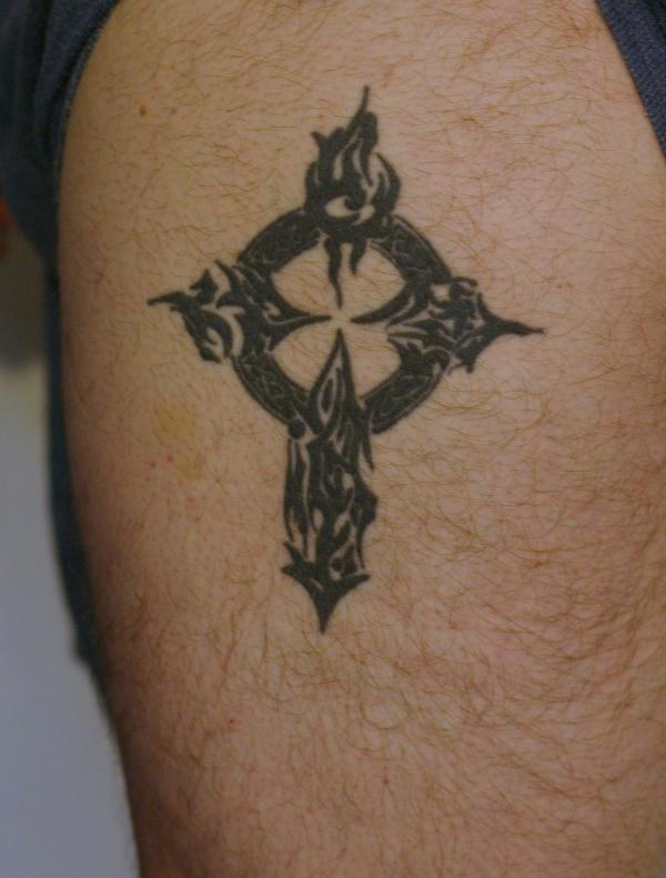 Celtic And Tribal Cross