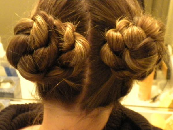 rope braid buns 35 Updos For Medium Length Hair You Should Check Today