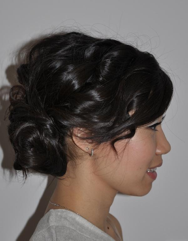 Groovy 35 Updos For Medium Length Hair You Should Check Today Slodive Short Hairstyles Gunalazisus
