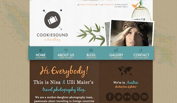 cookiesound 35 Striking Examples of Circular Elements In Web Design