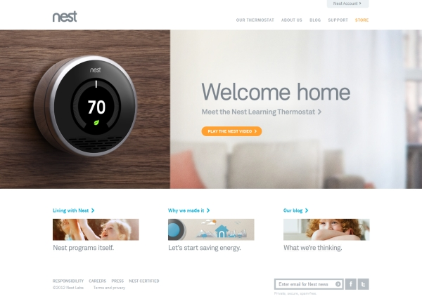 nest 35 Striking Examples of Circular Elements In Web Design