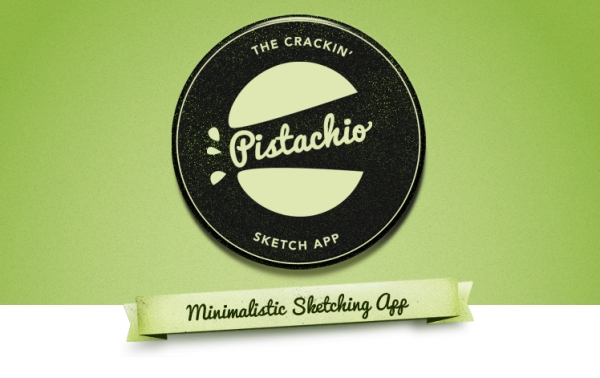 pistachio sketching app 35 Striking Examples of Circular Elements In Web Design