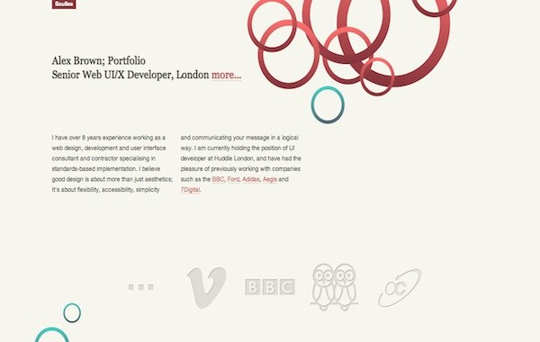 souliss 35 Striking Examples of Circular Elements In Web Design