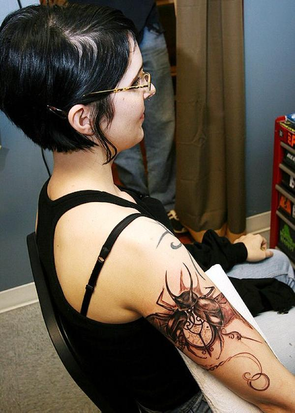 beetle tattoo 100 Tattoo Ideas You Should Check Before Getting Inked