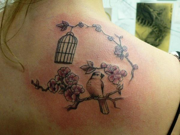 little birdy tattoo 100 Tattoo Ideas You Should Check Before Getting Inked