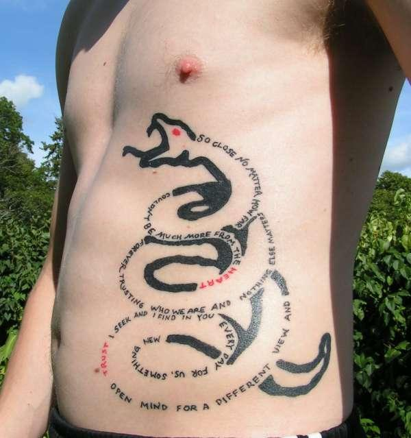 metallica snake 100 Tattoo Ideas You Should Check Before Getting Inked