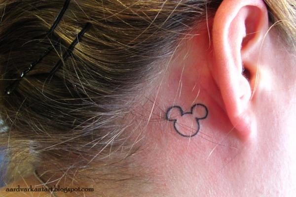 mickey mouse 100 Tattoo Ideas You Should Check Before Getting Inked