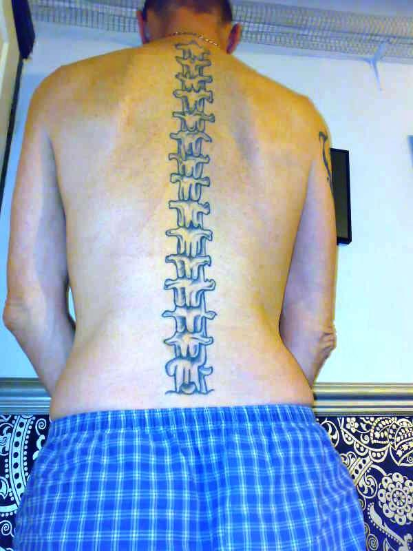 spine tattoo 100 Tattoo Ideas You Should Check Before Getting Inked