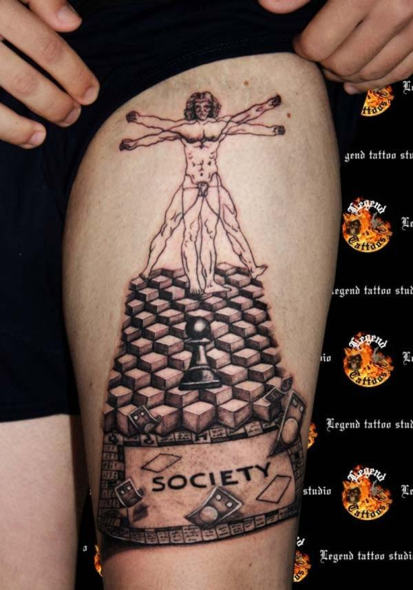 surrealistic tattoo 100 Tattoo Ideas You Should Check Before Getting Inked