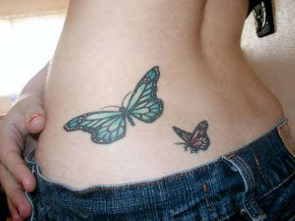 two butterflies 100 Tattoo Ideas You Should Check Before Getting Inked