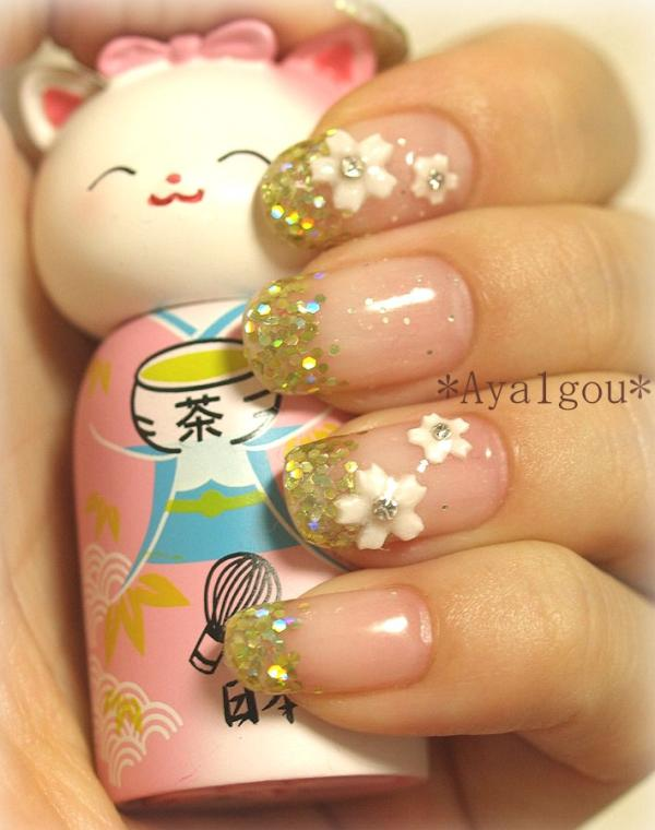Holiday Shine Nail Art