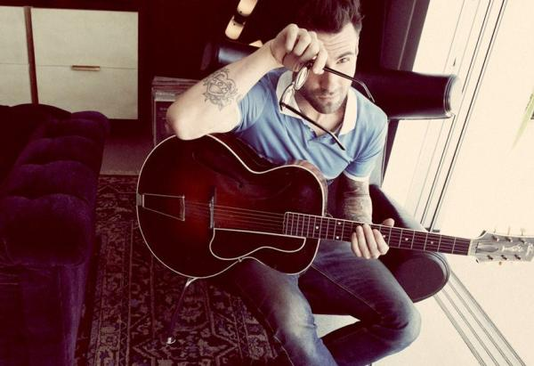 Adam Levine And Guitar