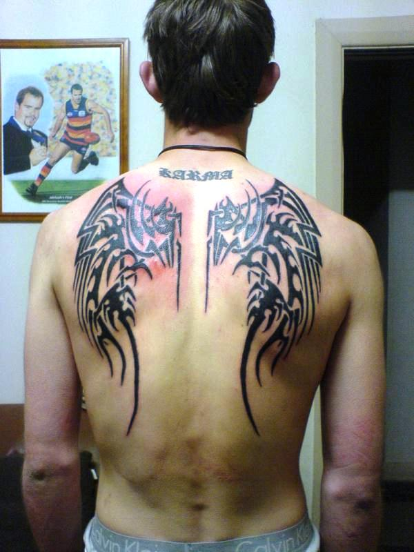 Back Body Art