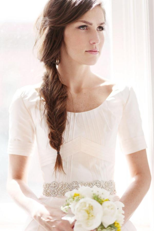 long hair 30 Tremendous Bridal Hairstyles For Long Hair