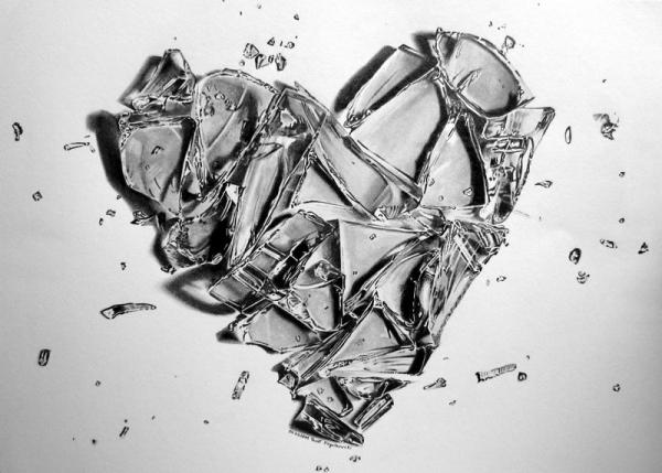 Slikovni rezultat za breaking glass heart