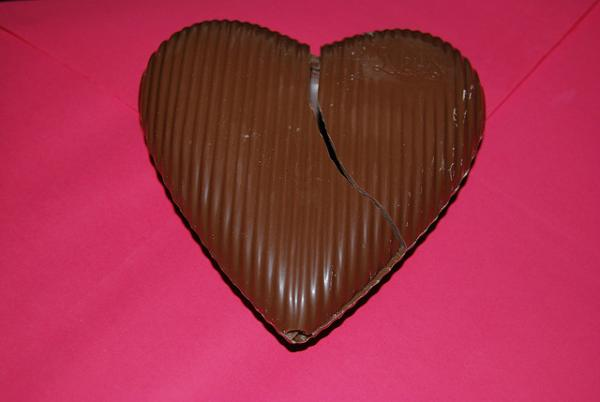 Broken Heart Chocolate