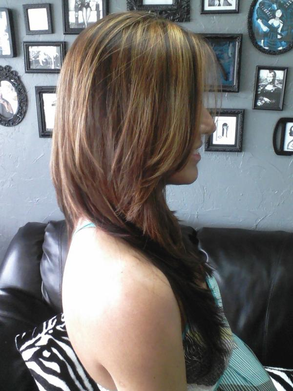 Photo Collection Of Sexy Brown Hair With Caramel Highlights Slodive