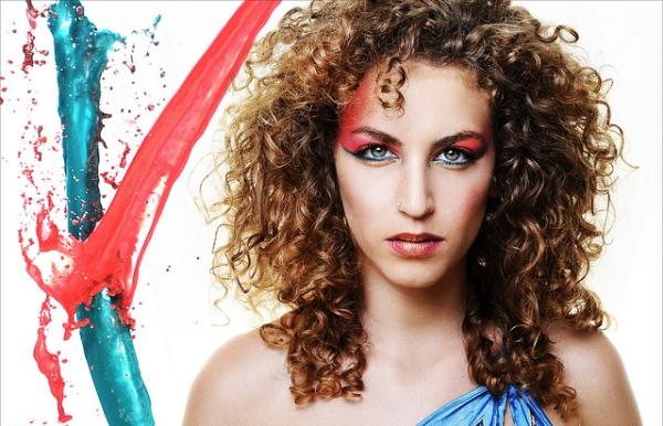Fabulous Cool Hairstyle 2014 Dark Brown Curly Hair With Highlights Short Hairstyles For Black Women Fulllsitofus