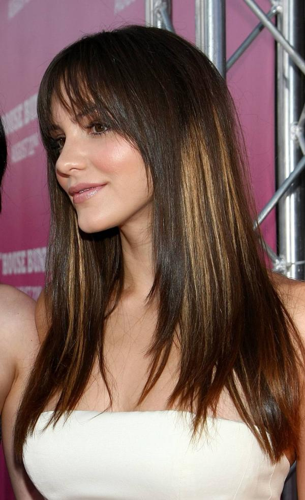30 sexy brown hair with caramel highlights slodive katherine mcphee pmusecretfo Images