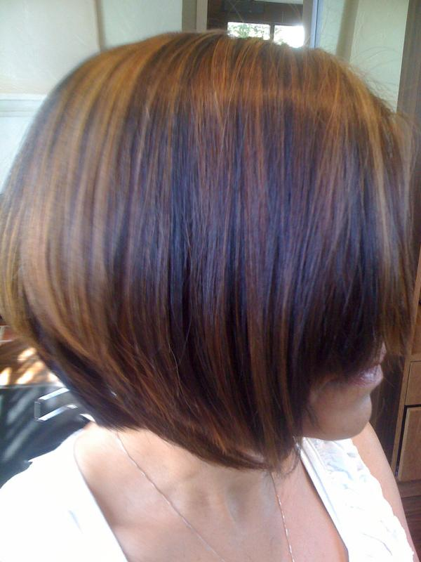 Multi Tone Caramel Color Highlights