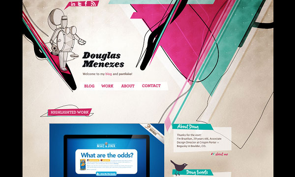 douglasmenezes 40 Creative Placement of Contact Us Tab – A Showcase