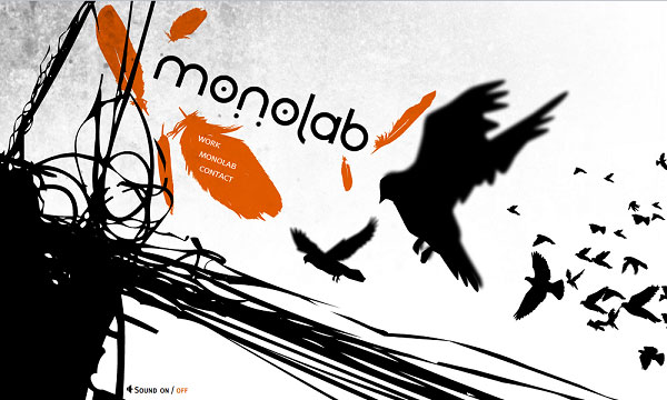 monolab 40 Creative Placement of Contact Us Tab – A Showcase