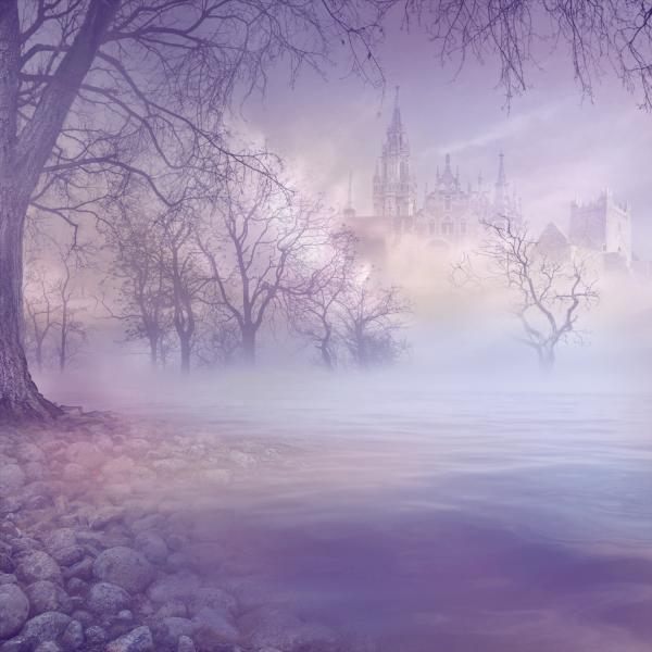fog forest n castle 30 Cool Backgrounds For Desktop You Need To Check Today
