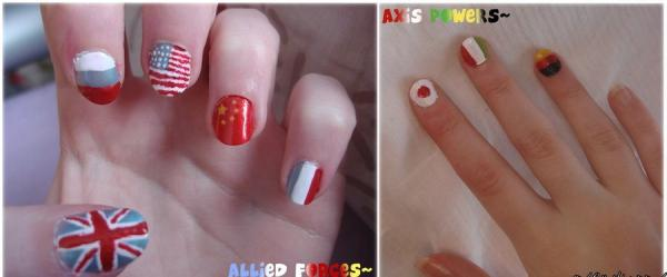 Allied Forces And Axis Forces Nails